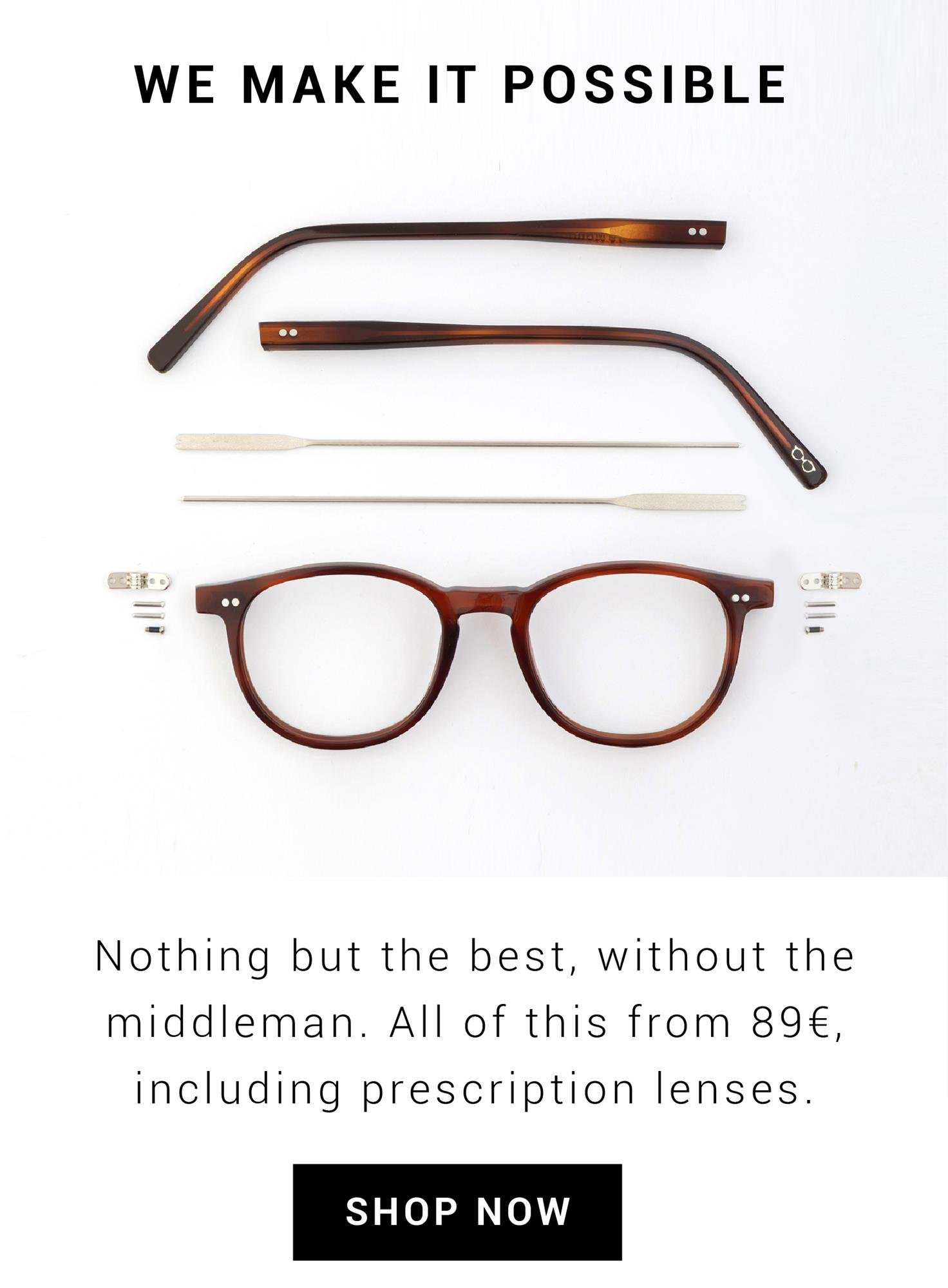 Quality handmade glasses
