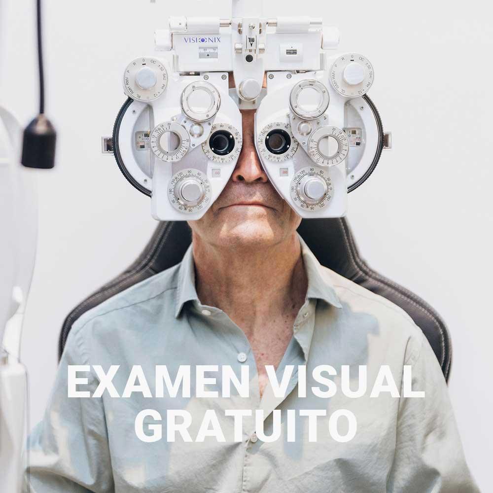 Examen visual gafas progresivas